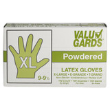 Powdered Latex Gloves XL - 100ct