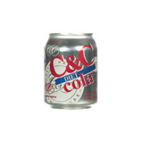 C&C Diet Cola - 8oz x 24