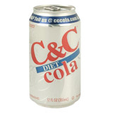 C&C Diet Cola - 12oz x 24