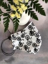Bicycle Print Small Mask - 1ct