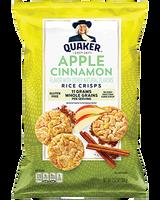 Apple Cinnamon Rice Crisps - 3.52oz x 12