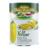 Peeled Italian Yellow Plum Tomatoes - 14oz