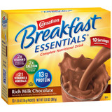 Carnation Chocolate Breakfast Shake - 10ct