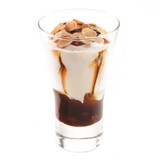 Coppa Strawberries & Caramel Gelato Glass (Frozen) - 6ct