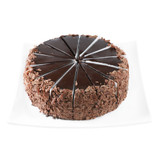 """Chocolate Mousse Cake 14 Slices (Frozen) - 10"""""""