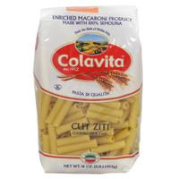 Colavita Cut Ziti Pasta - 1lb