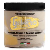 Caramel Cookies & Cream Gelato (Frozen) - 1pt