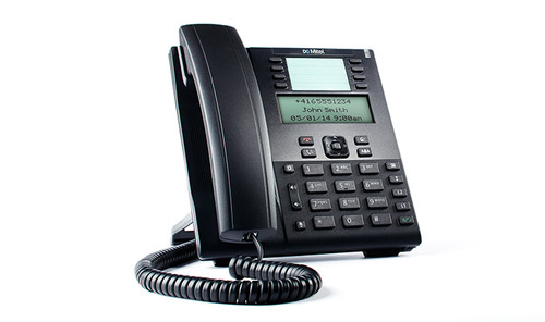 Mitel 6865 SIP phone- Feature-rich and affordable, this enterprise grade phone offers exceptional flexibility for the home or business office.