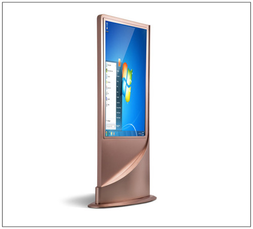 Rose Gold Touch Screen Computer