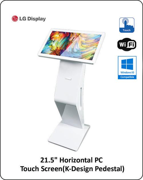 "K-Design 21.5"" Touch Screen Computer Kiosk"