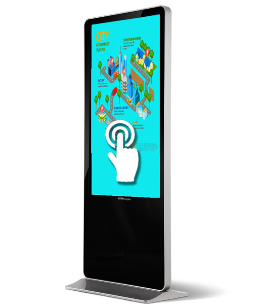 Android-Touch Screen Kiosk Player