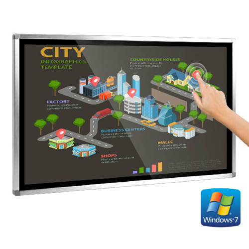 Wall Mounted Touch Screen Computer