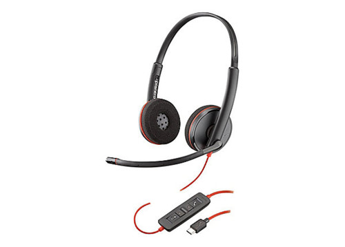 Wired - Plantronics Blackwire C3220 USB(A or C)