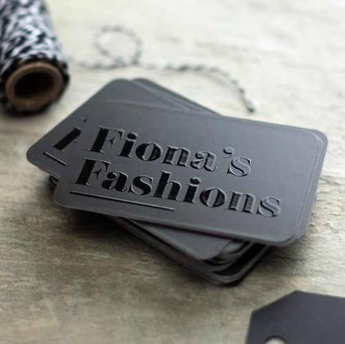 Embossed Gloss Business Cards