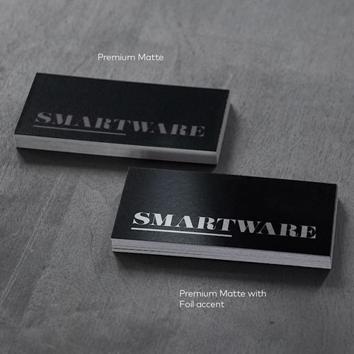 Foiled Accent Business Cards