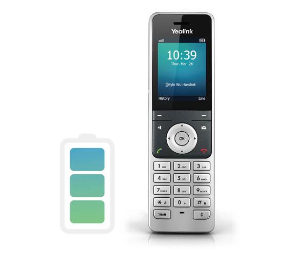 Yealink W56H - Wireless DECT IP Premium Phone designed with robust hardware