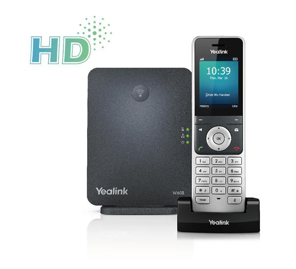 Yealink W60P- Wireless DECT IP Package W60B+W56H