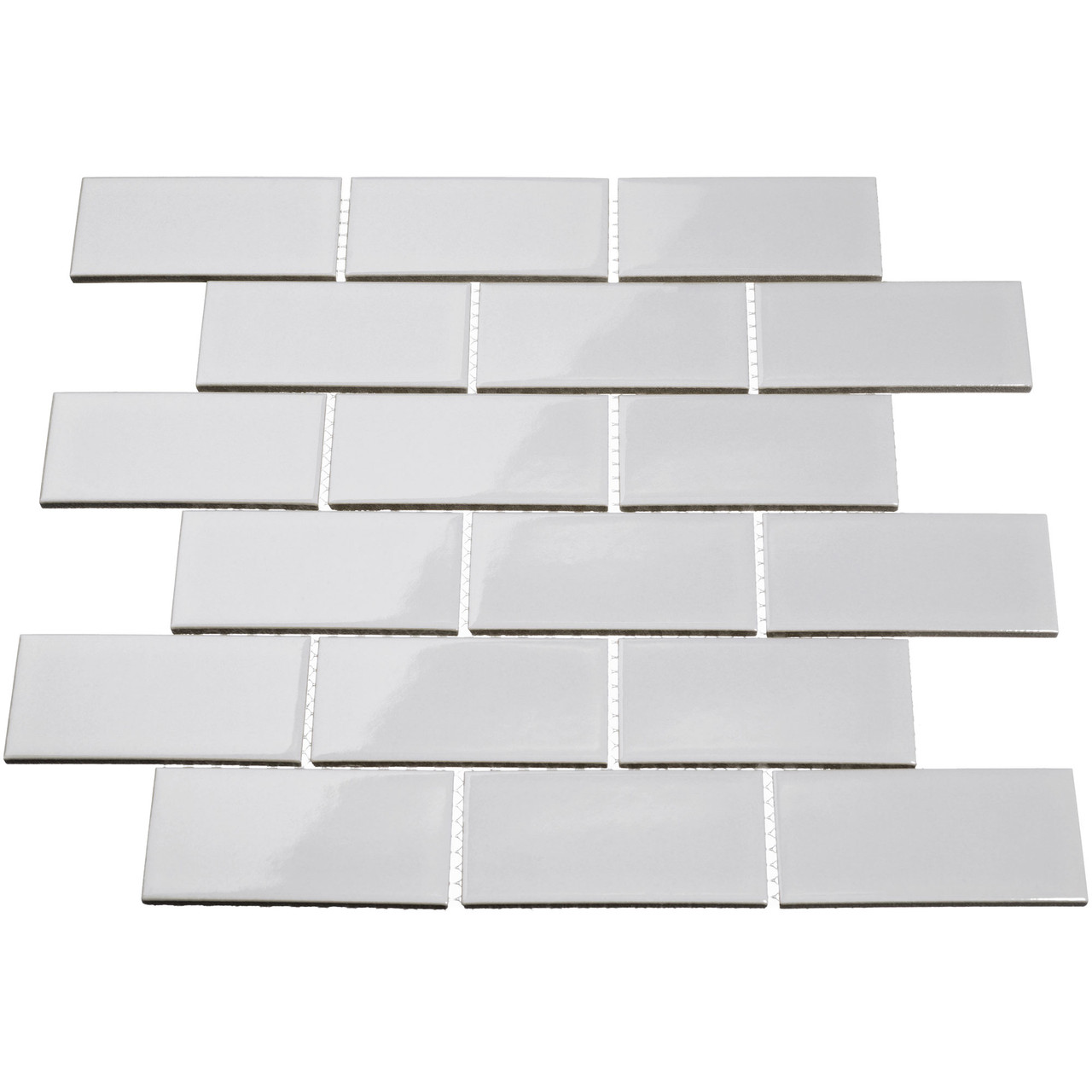 - Giorbello Porcelain Subway Tile, 2 X 4, Light Gray