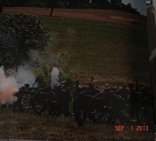 Civil War Artillery Scrapbook Paper #2