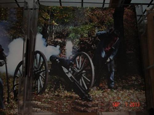 Civil War Artillery Scrapbook Paper #4