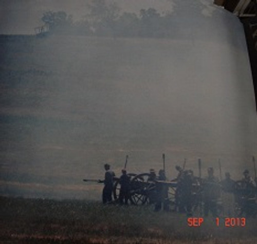 Civil War Artillery Scrapbook Paper #5