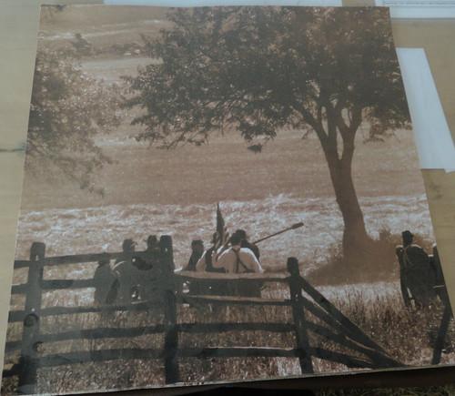 Civil War Artillery Scrapbook Paper #7