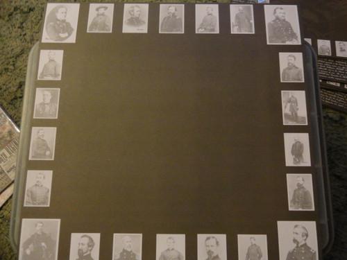 Union Generals Photo Scrapbook Paper