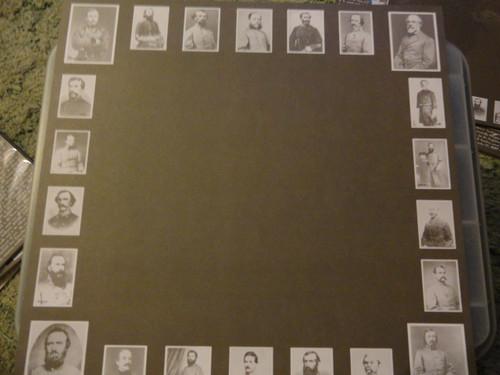 Confederate Generals Photo Scrapbook Paper