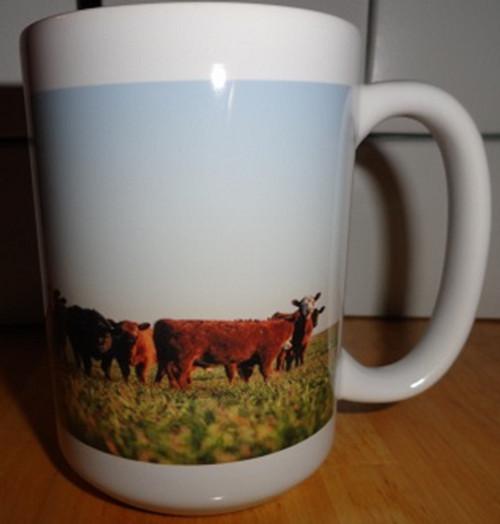 Cows in Field 15oz Coffee Mug