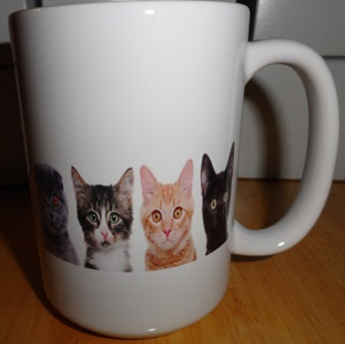 Kitties 15oz Coffee Mug