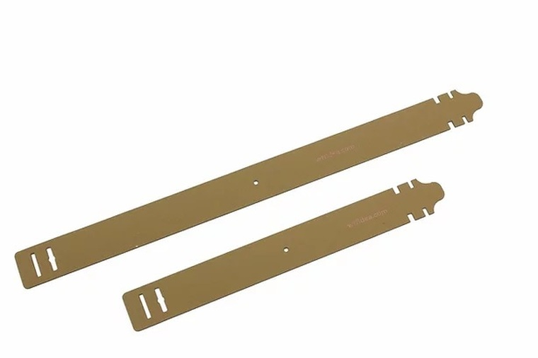 Coyote Brown WTFix Attachment System Straps