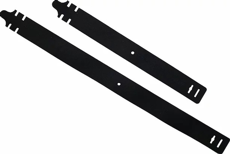 Black WTFix Attachment System Straps