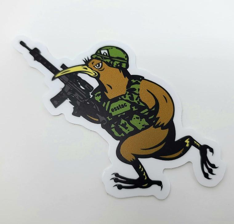 Battle KYWI Bird Sticker
