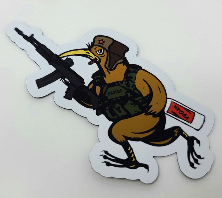 Russian Battle KYWI Bird Magnet