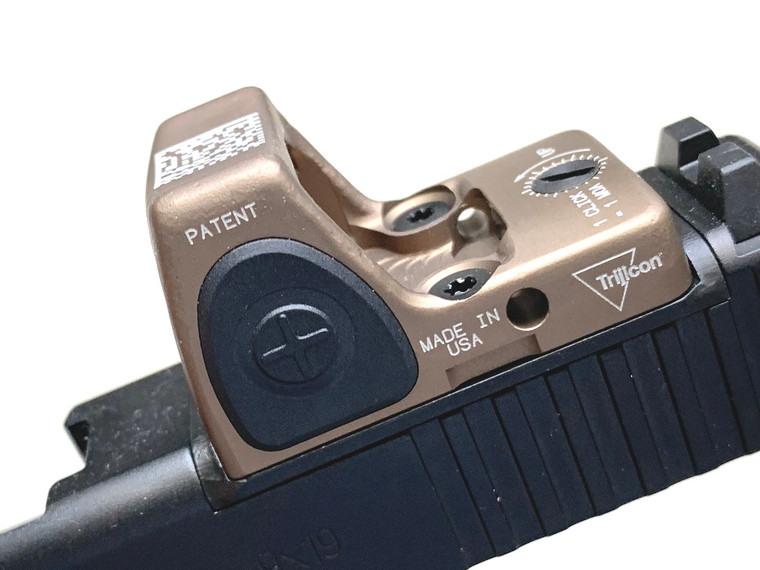 Forward Controls Glock MOS Plate (RMR, OPF-G)