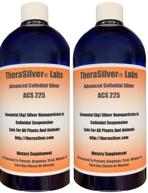 TheraSilver® Labs Advanced 225 PPM Twin Pack