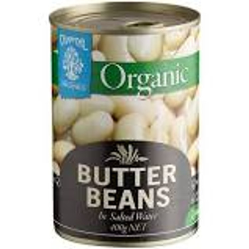Organic Peas and Beans (five varieties) - 400gm can