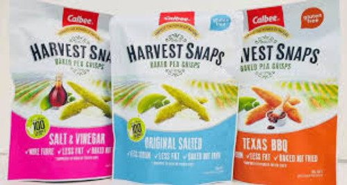 Calbee Harvest Snaps (four flavours) - 93gm
