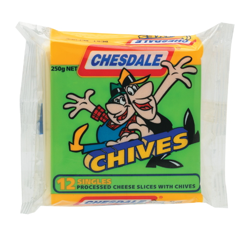 Chesdale Chives Cheese Slices