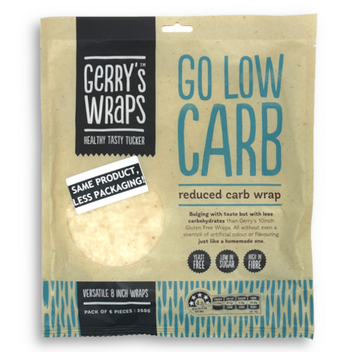 Go Low Carb Wrap 6 Pack