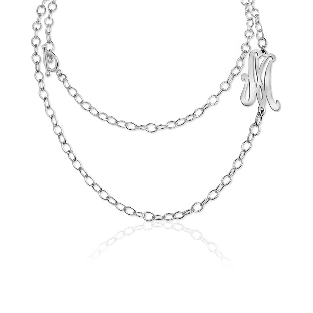 Letter Convertible Necklace