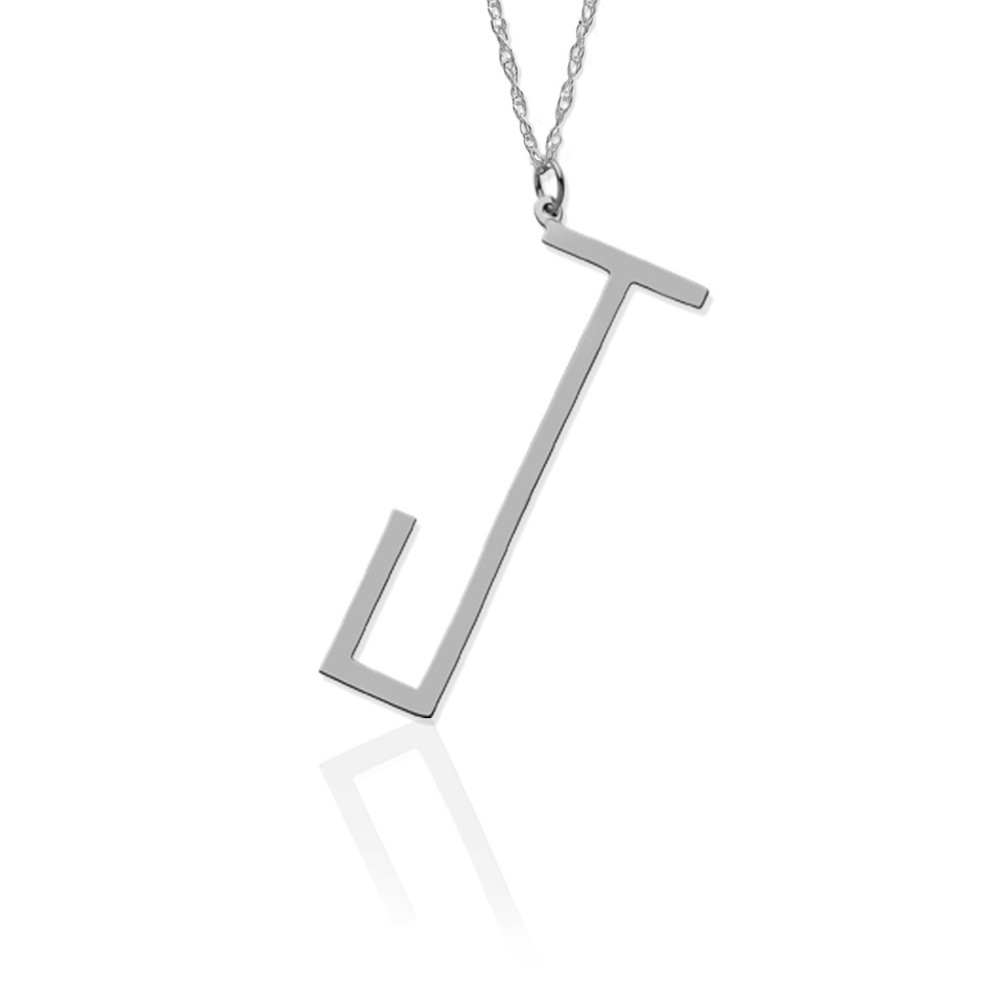 Angle Block Letter on 30″ Chain