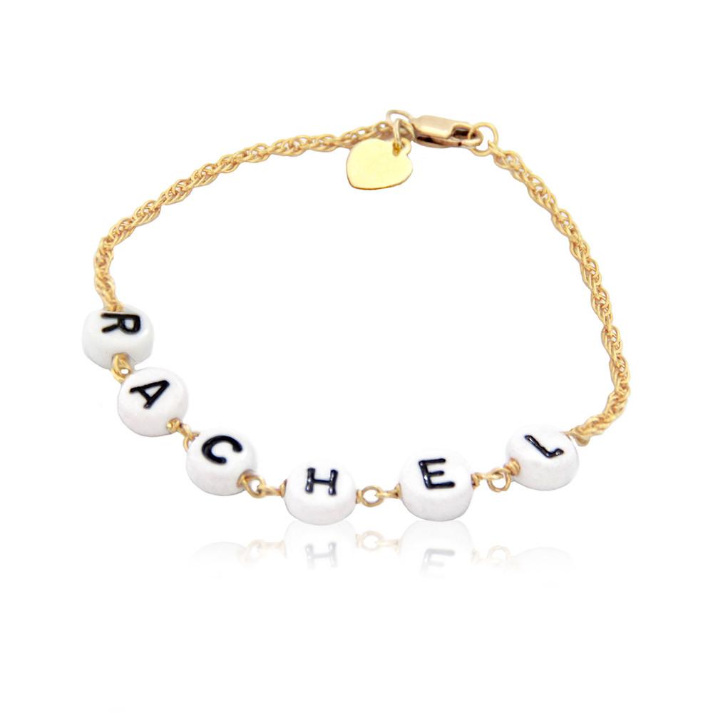 Baby Bead Name Bracelet