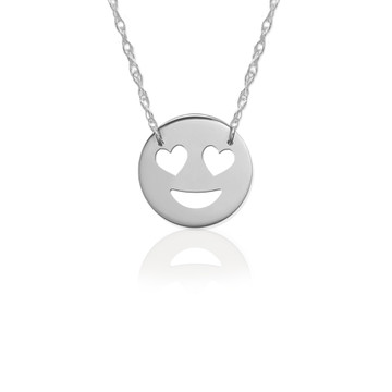 JBD364 Love Emoji in Sterling Silver