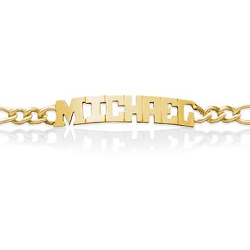 JBD429 Men's Name Bracelet
