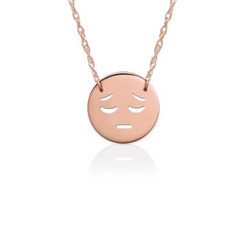 Gold JBD363 Sad Emoji