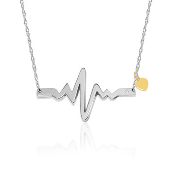Rhythm Heartbeat Necklace