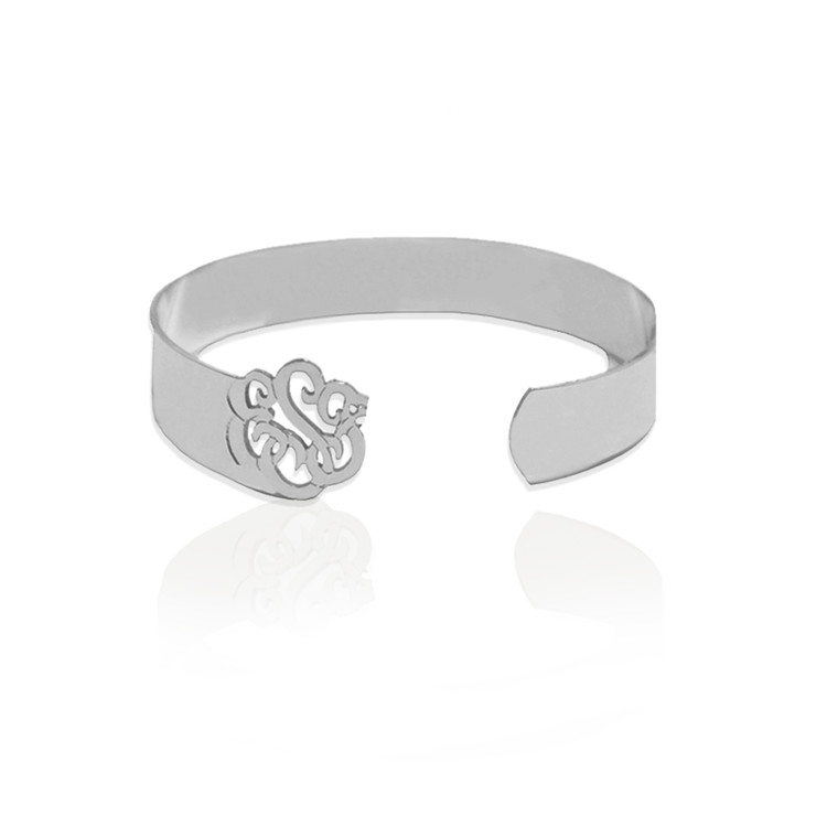 JBD343 Cuff Bracelet with Monogram