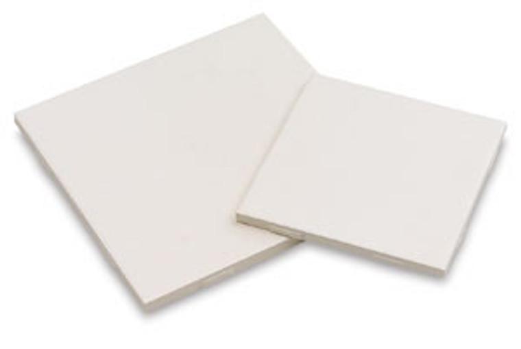 """4.25"""" Square Bisque Tile-Laguna"""