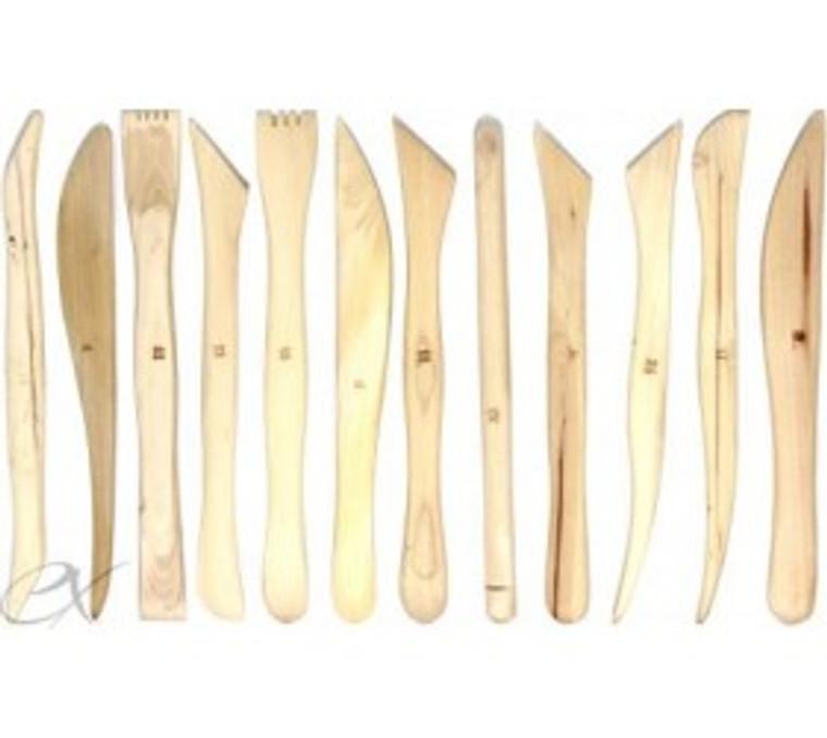 "6"" Wood Modeling Tool Set"